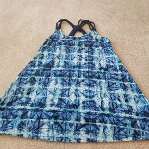 Apt 9  Tie dyed bathing suit cover up sz md EUC